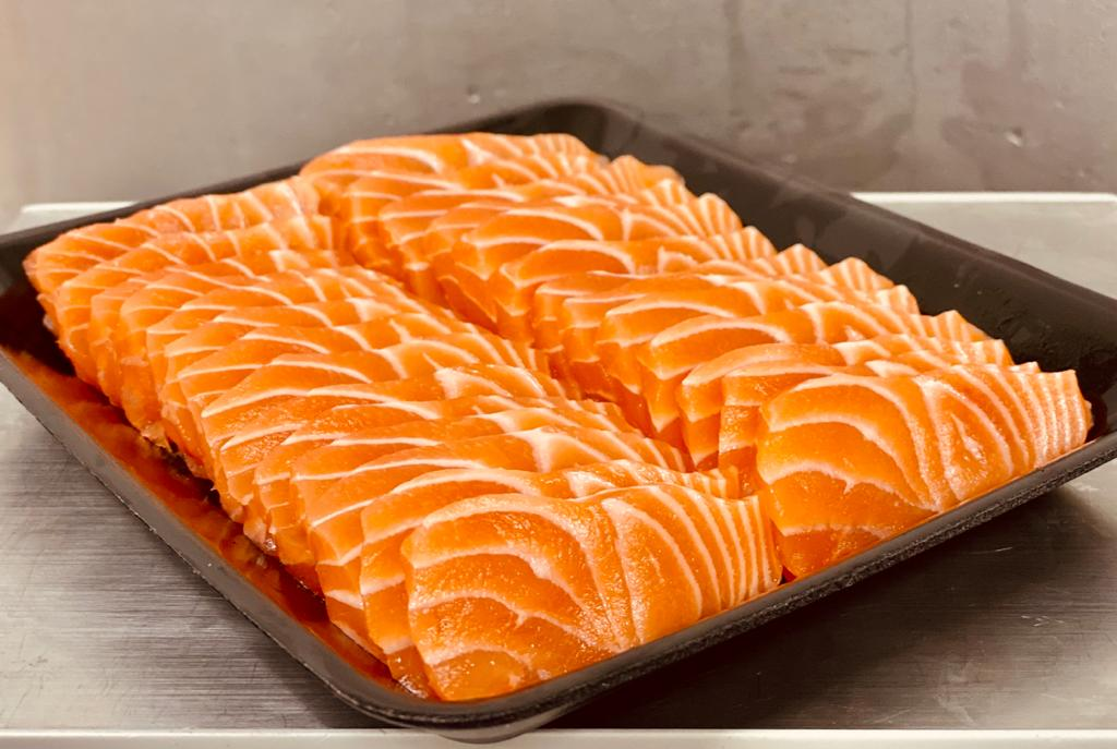 New Salmon Sashimi
